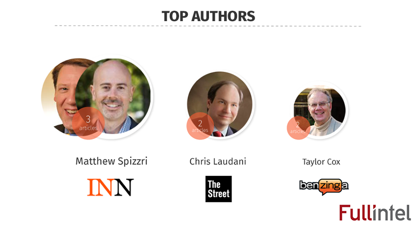 Top Authors of Semicon West 2016